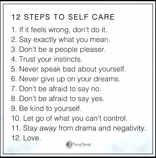Self Care
